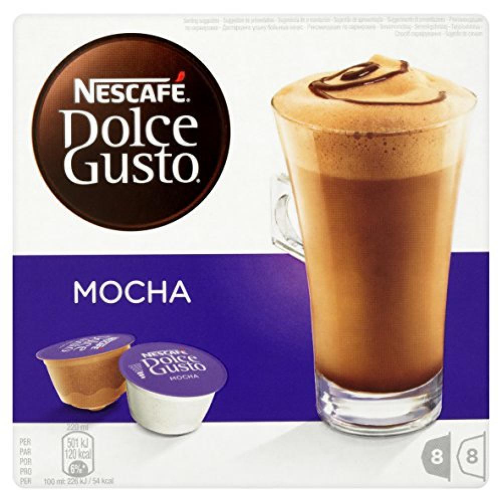 Nescafe Dolce Gusto Mocha 8 Servings 216g