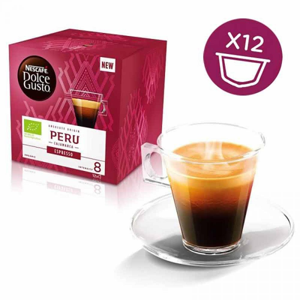Nescafe Dolce Gusto Peru Cajamarca Espresso x12