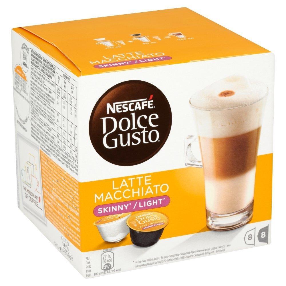 Nescafe Dolce Gusto Skinny Latte Machiato 16 Capsules