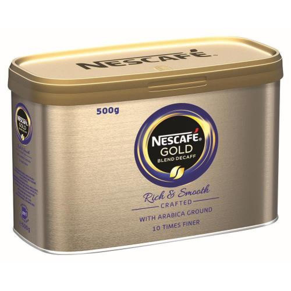 Nescafe Gold Blend Decaff Coffee Tin 500g