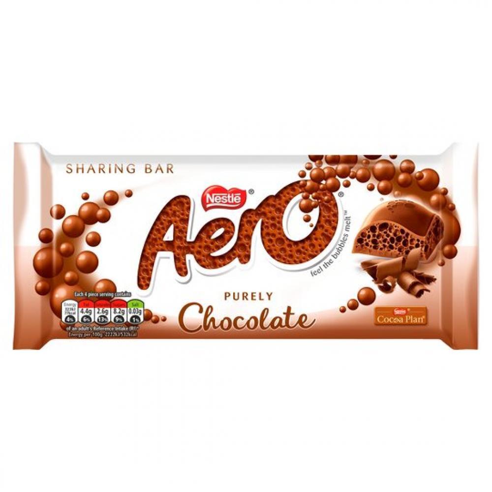 Nestle Aero Chocolate Sharing Bar 90g