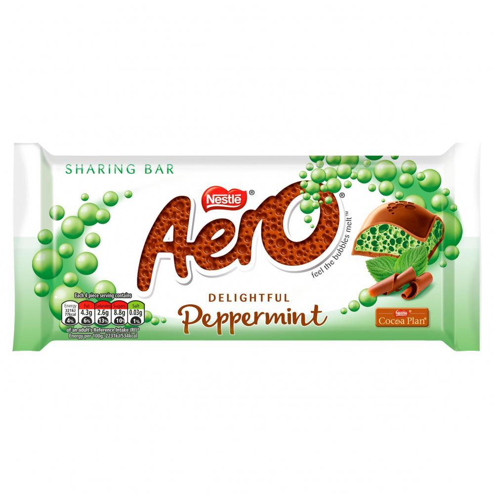 Nestle Aero Peppermint Sharing Bar 90g