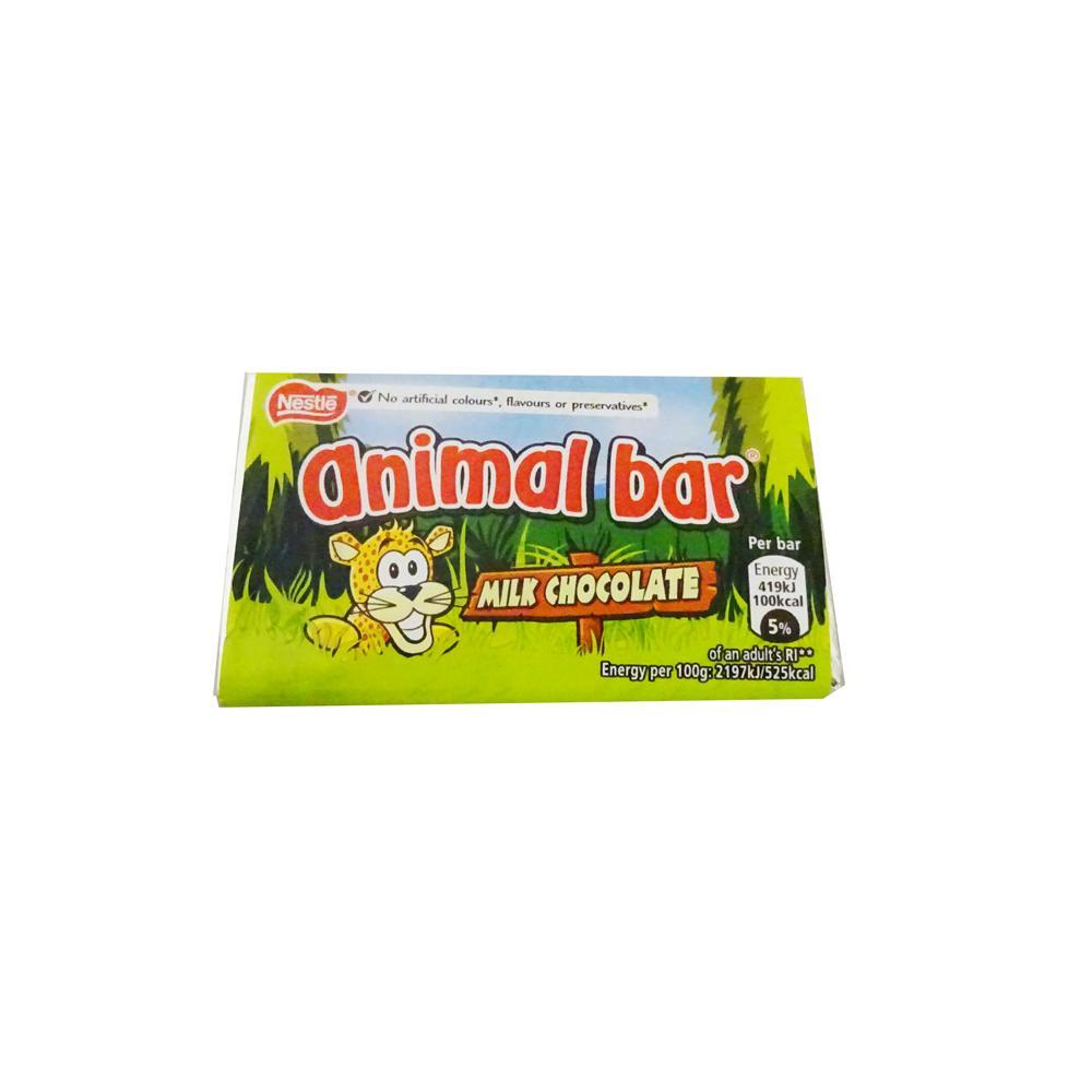 Nestle Animal Bar Milk Chocolate 19g