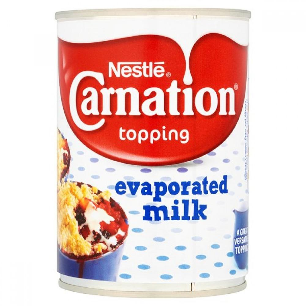 Nestle Carnation Topping Evaporated Milk 410g