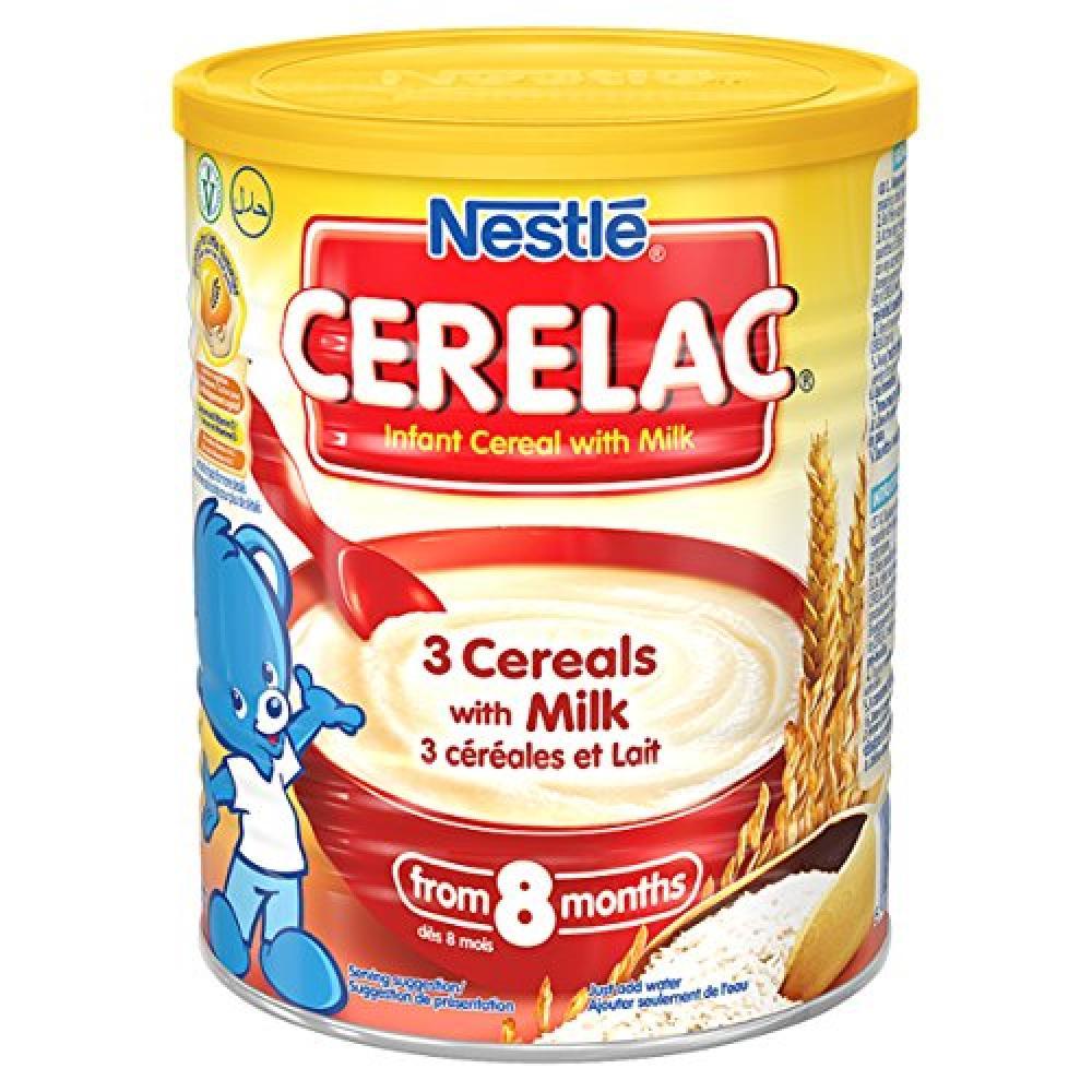Nestle CERELAC 3 Cereals with Milk 8 months 400 g