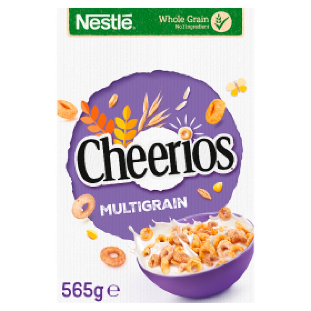 Nestle Cheerios Multigrain Cereal Family Pack 565g