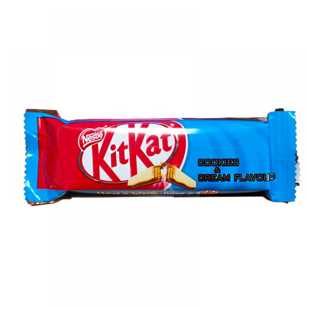 Nestle Kitkat 2 Fingers Cookies and Cream 20.7g