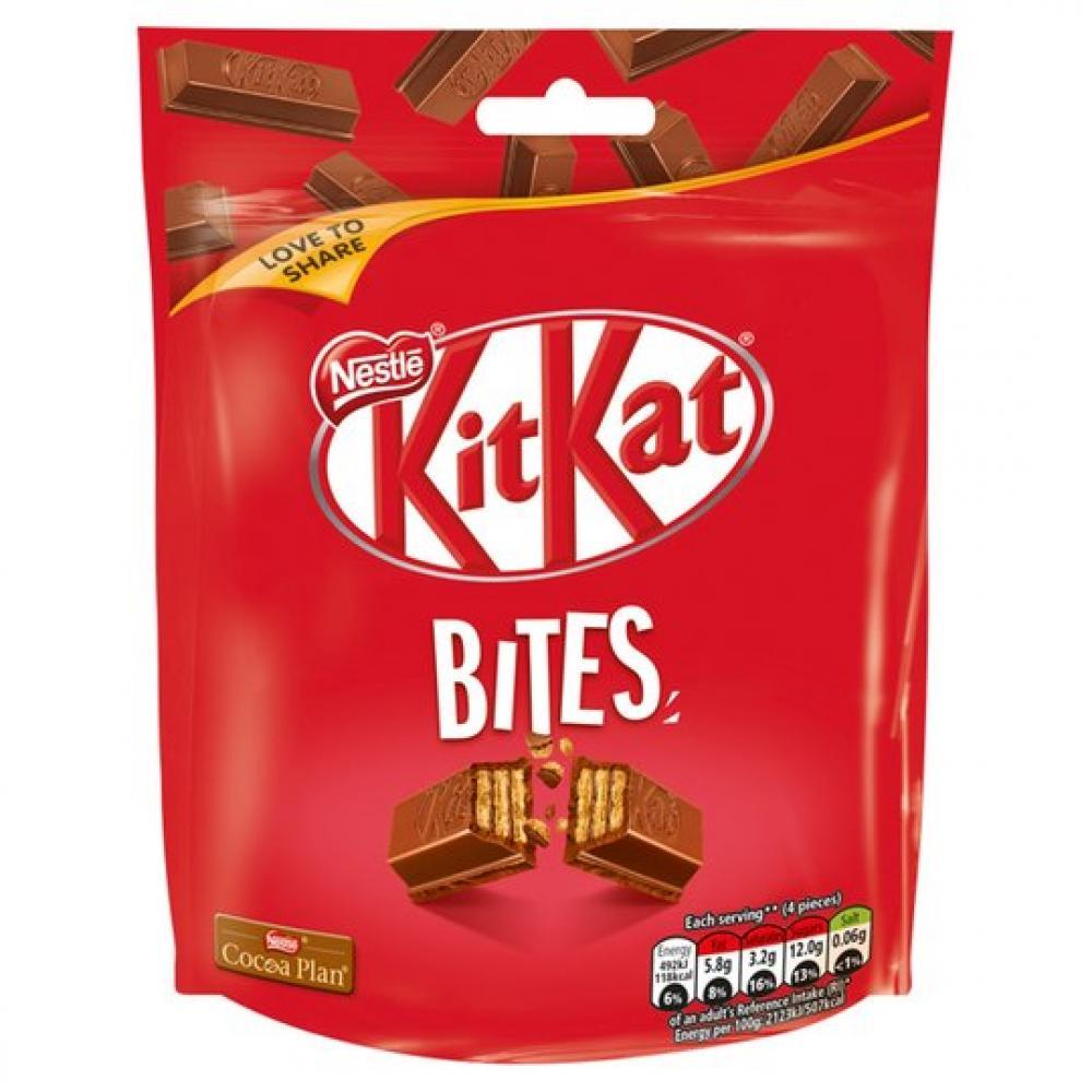 Nestle Kitkat Bites 104g