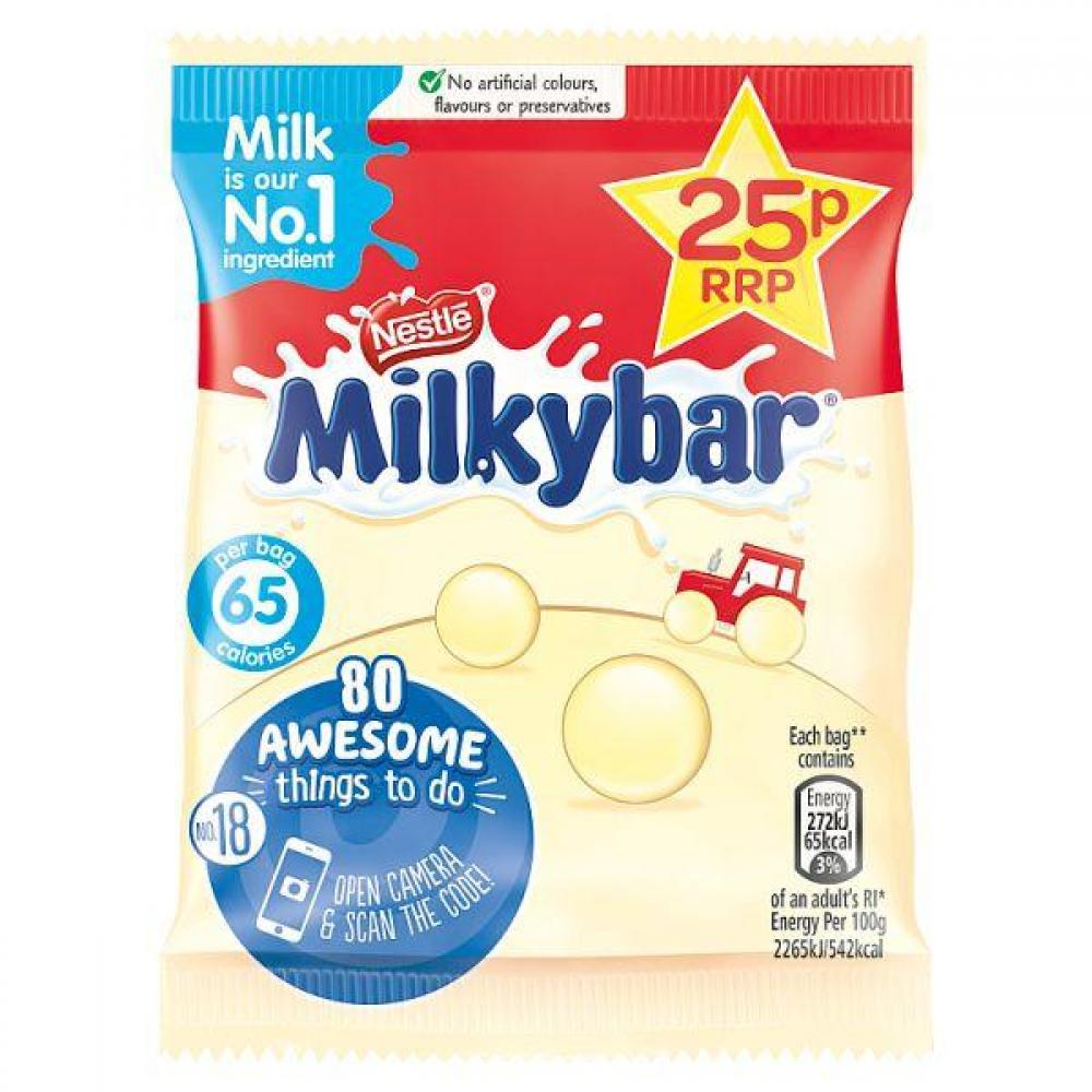 Nestle Milkybar Buttons 12g