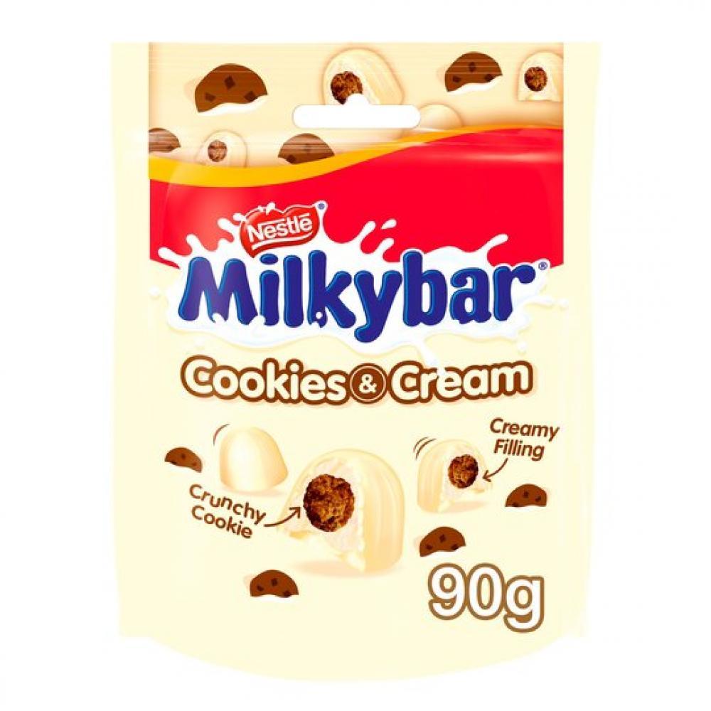 Nestle Milkybar Cookies and Cream 90g