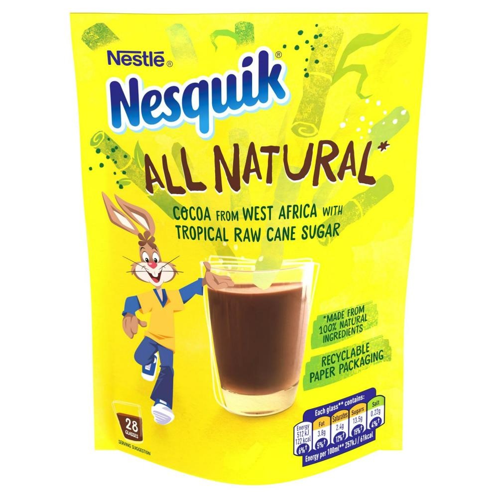 Nestle Nesquik All Natural Cocoa Powder Pouch 168g
