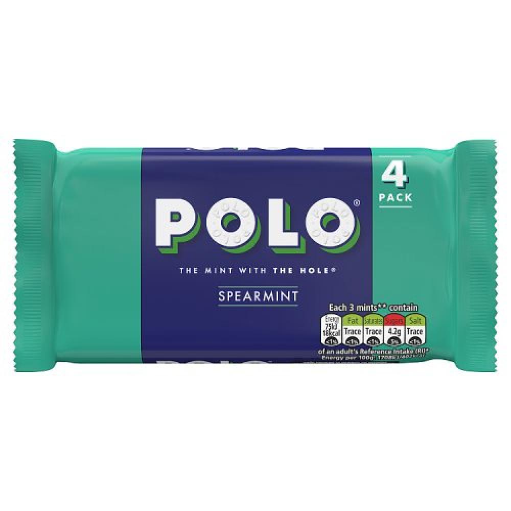 Nestle Polo Spearmint 4 x 34g