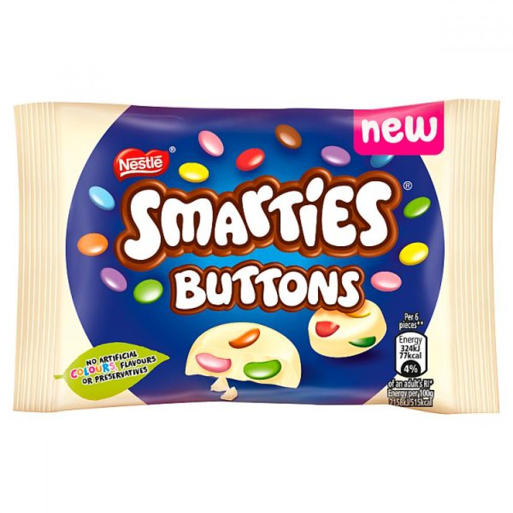 Nestle Smarties Buttons 30g