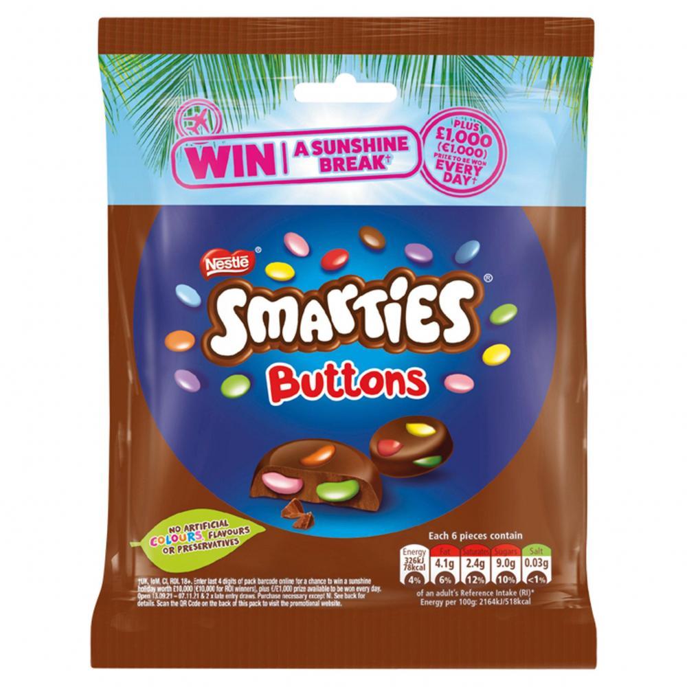 Nestle Smarties Buttons 90g