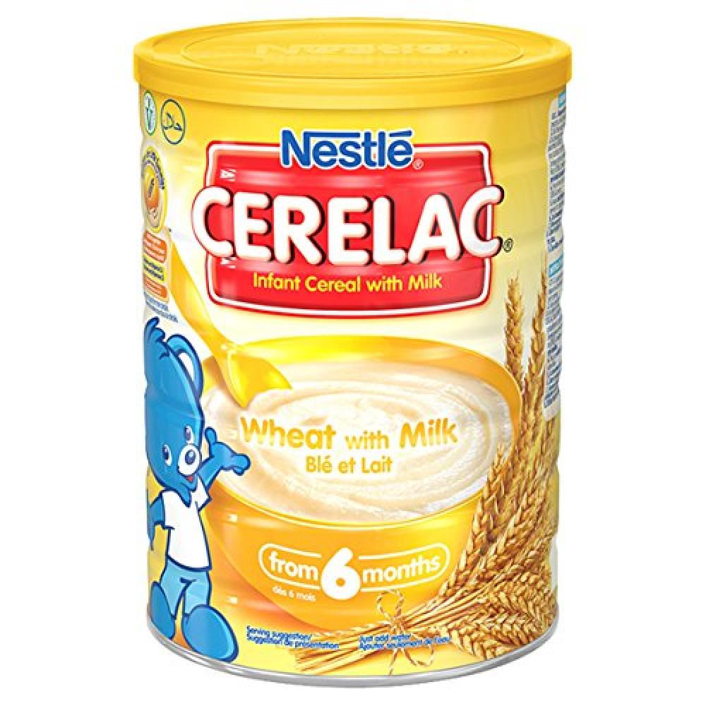 Nestle Wheat With Milk From 6 Months 1Kg