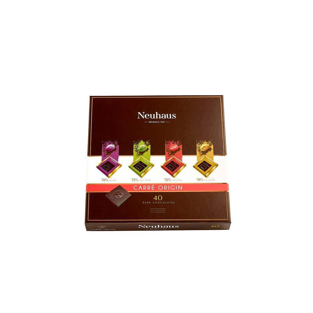 Neuhaus Carre Origin 40 Dark Chocolates 200g