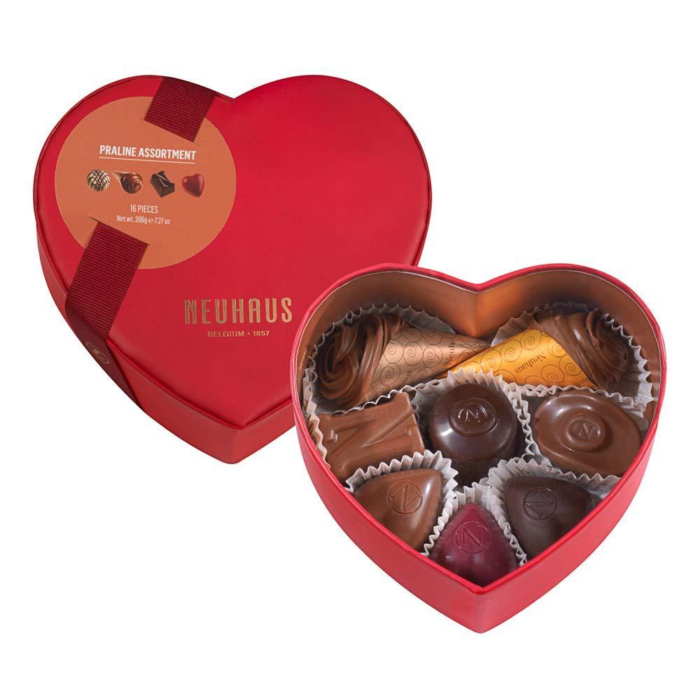 Neuhaus Small Heart Box 16 Pieces 206 g