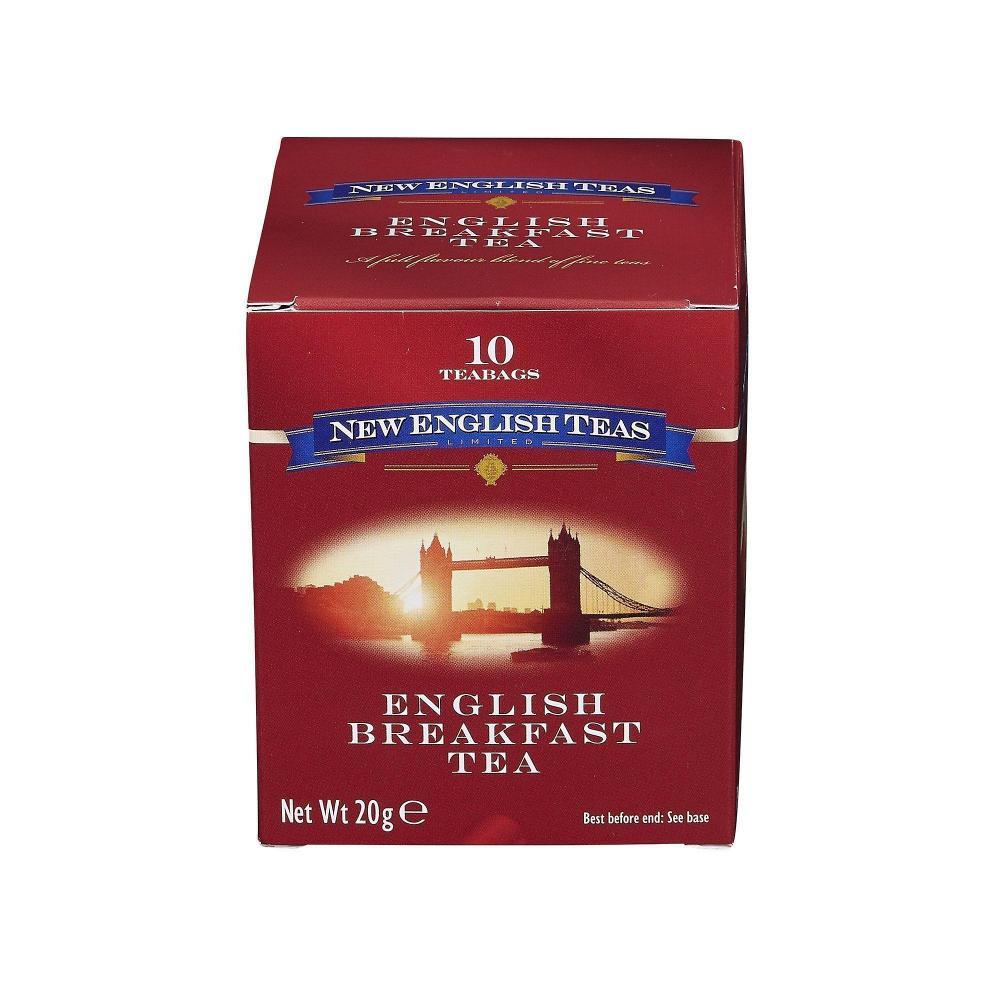New English Teas English Breakfast Tea 10 Teabags 20g
