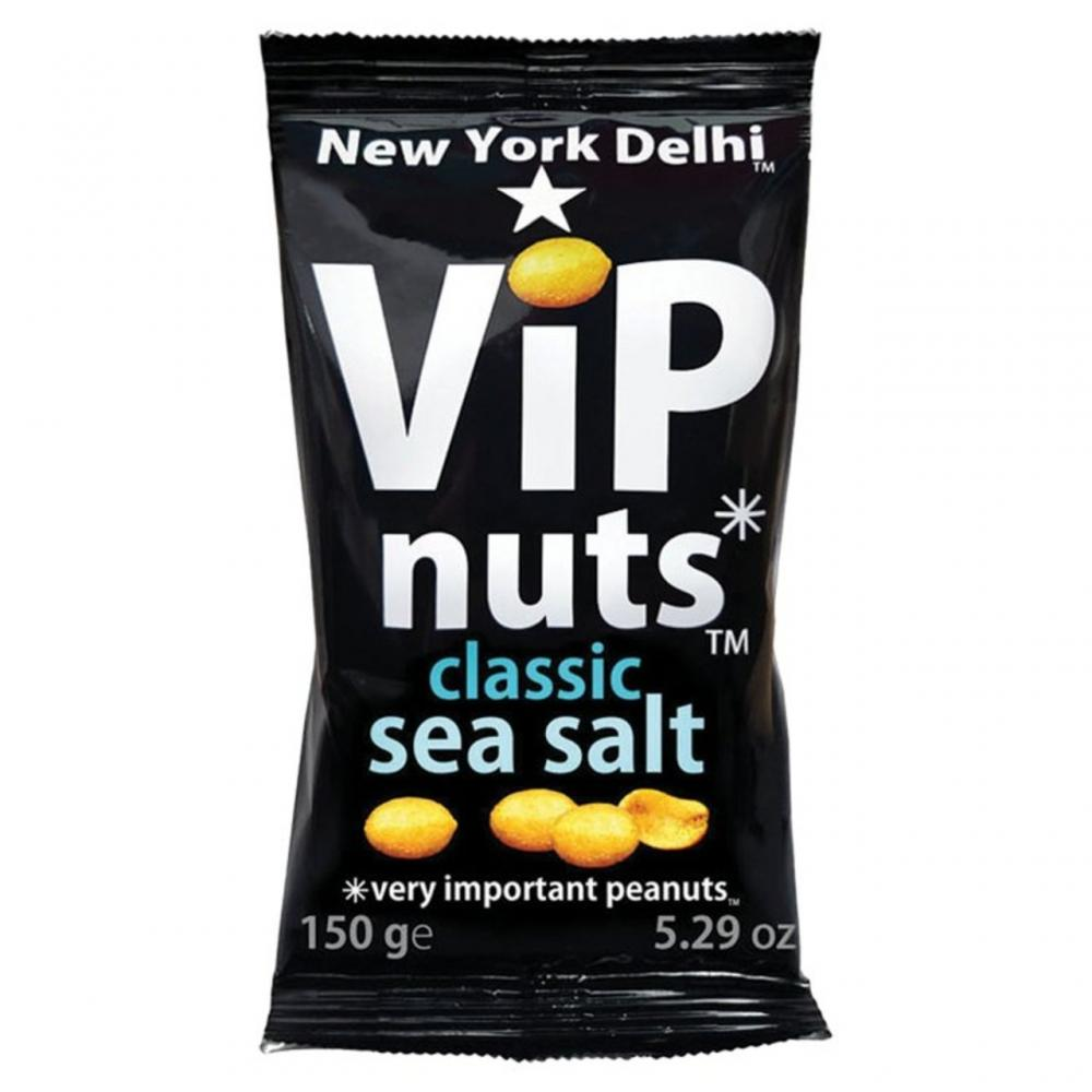 WEEKLY DEAL  New York Delhi VIP Nuts Classic Sea Salt 150g