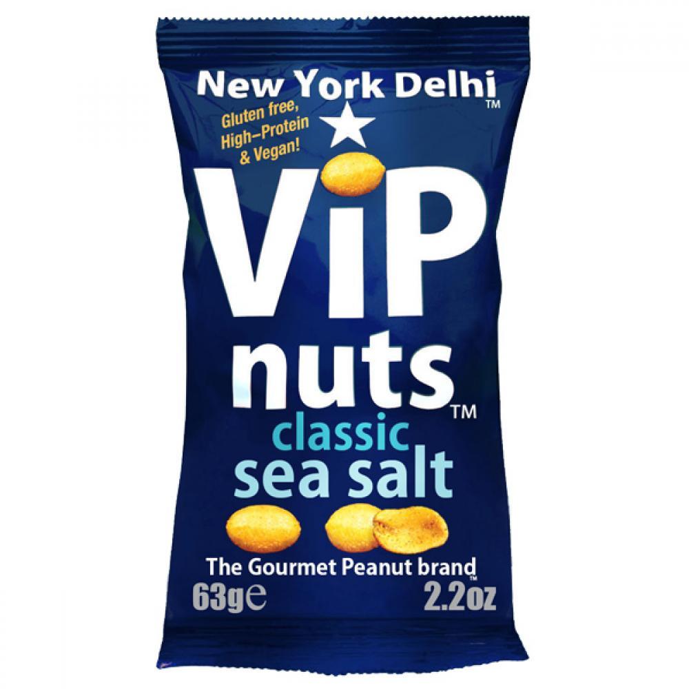 New York Delhi VIP Nuts Classic Sea Salt 63g