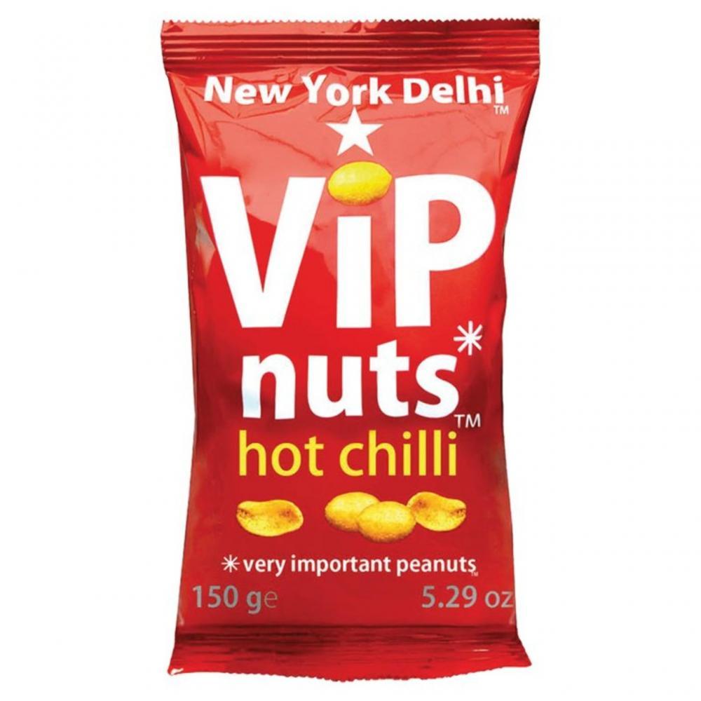 New York Delhi VIP Nuts Hot Chilli 150g