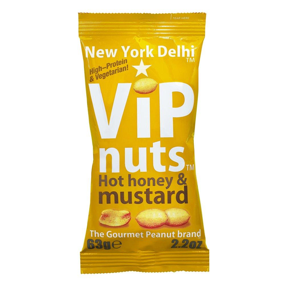 New York Delhi VIP Nuts Hot Honey and Mustard 63g