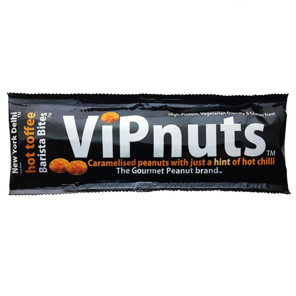 SALE  New York Delhi VIP Nuts Hot Toffee 27g