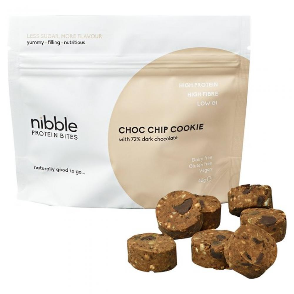 Nibble Protein Bites Choc Chip Cookie 42g