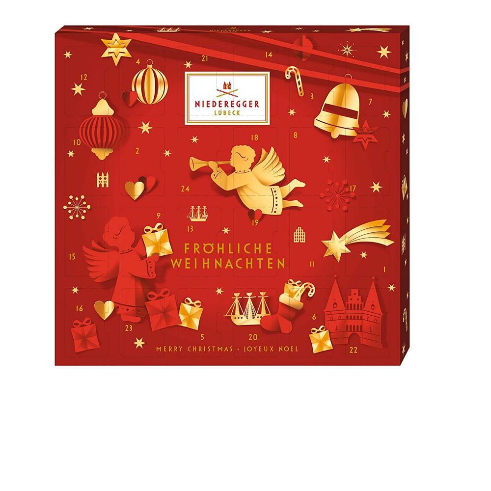 Niederegger Marzipan Mini Glamour Advent Calendar 168g