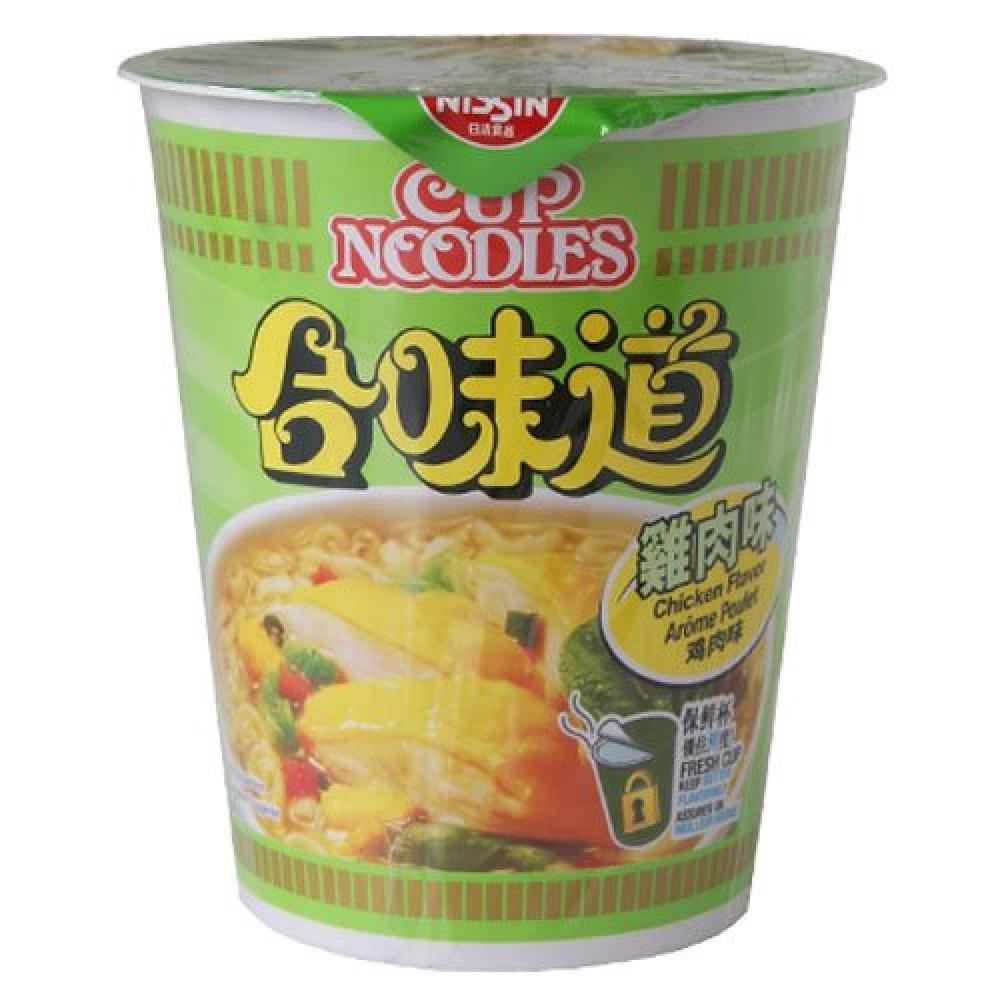 Nissin Chicken Flavour Noodle Cup 74g