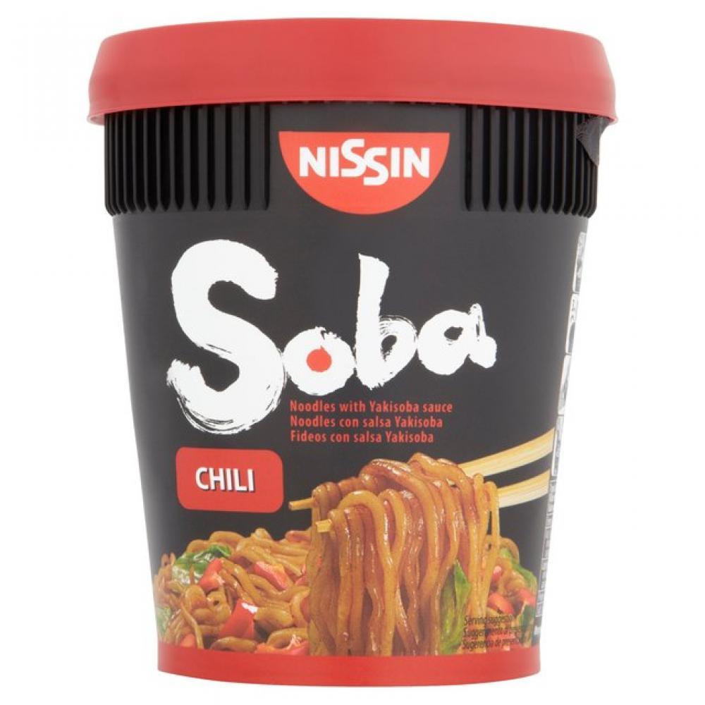 Nissin Soba Chilli Noodles 92g