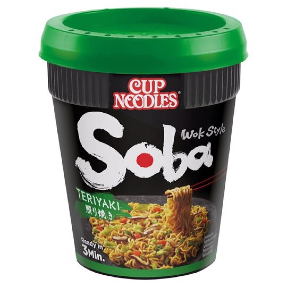 Nissin Soba Teriyaki Noodles 90g