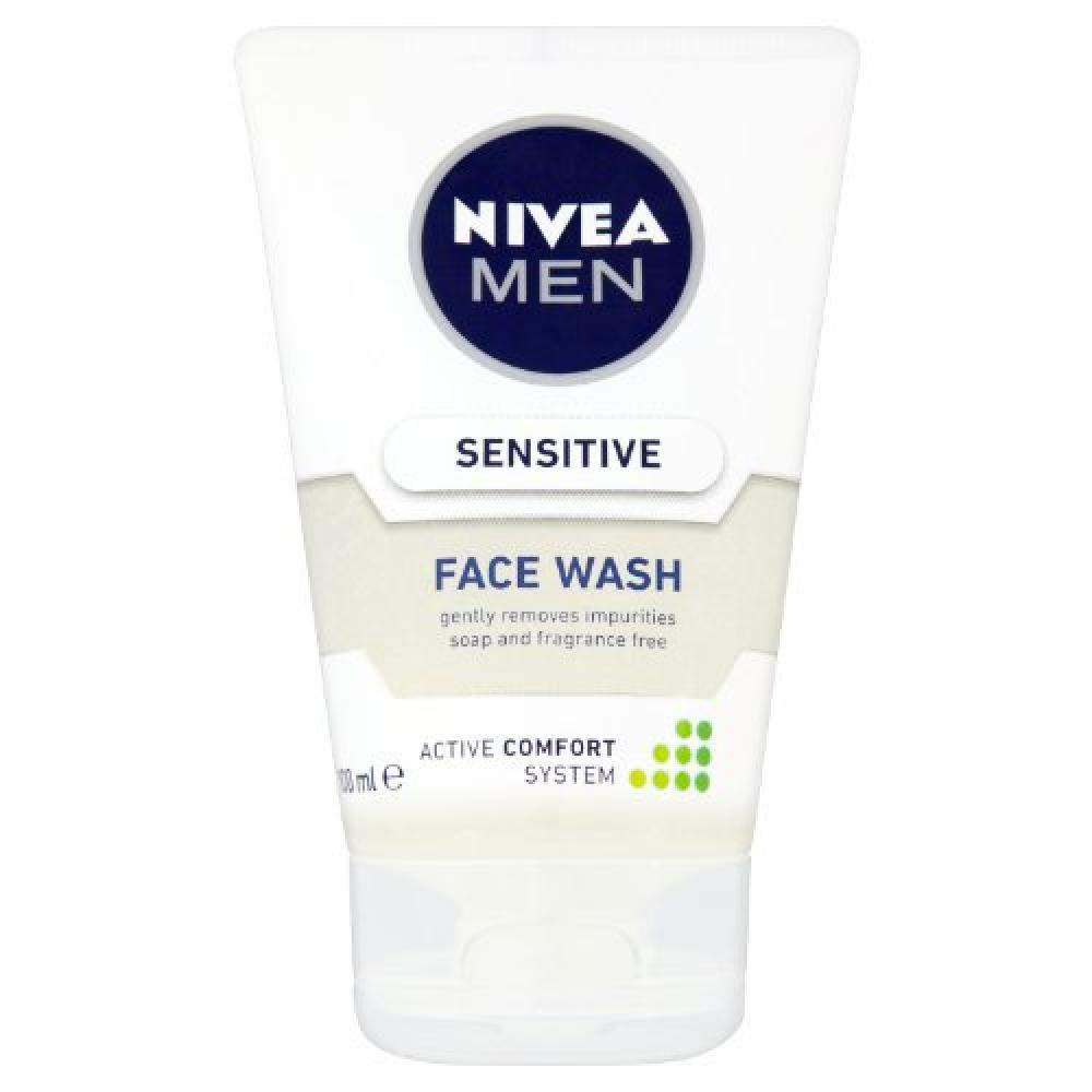 Nivea Men Sensitive Face Wash 100 ml
