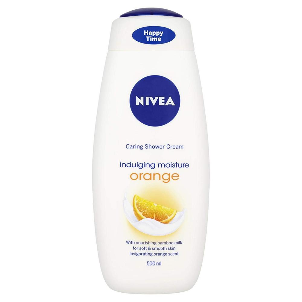 Nivea Shower Cream Indulging Moisture Orange 500ml