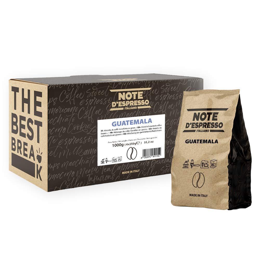 Note dEspresso Italiano Guatemala Single Origin Coffee Beans 250g