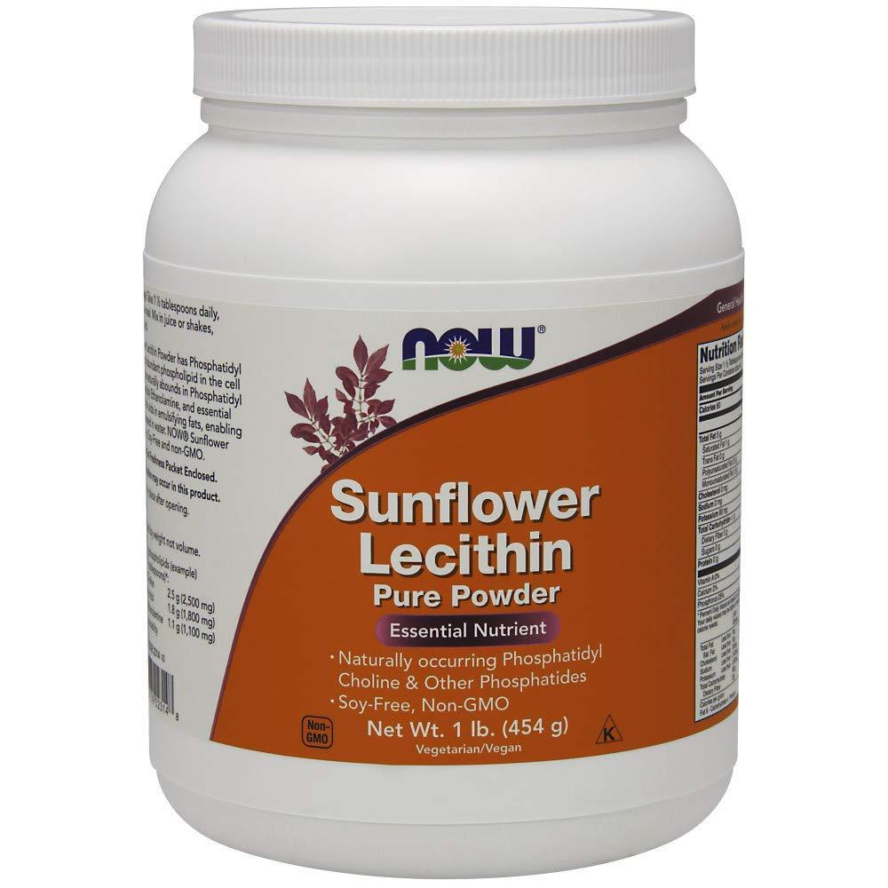 Now foods Sunflower Lecithin Pure Powder 454 g