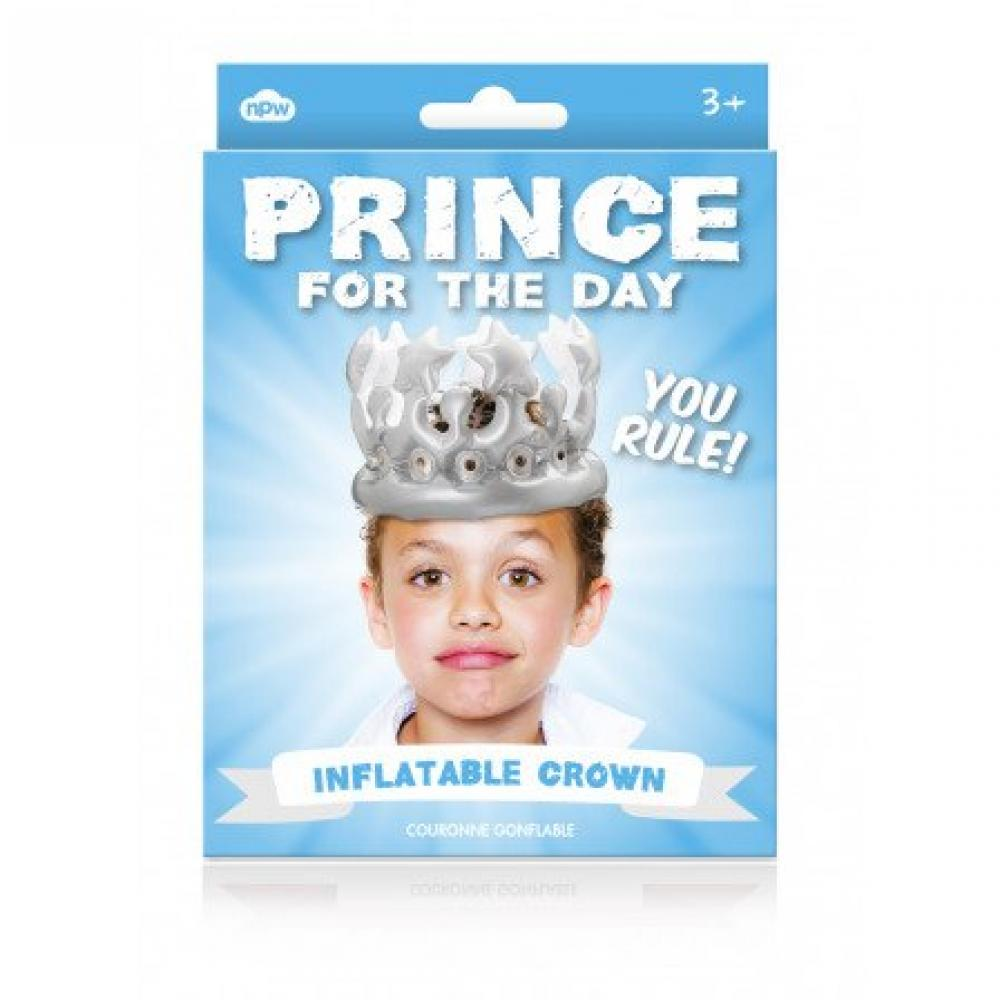 NPW Prince for the Day Inflatable Crown