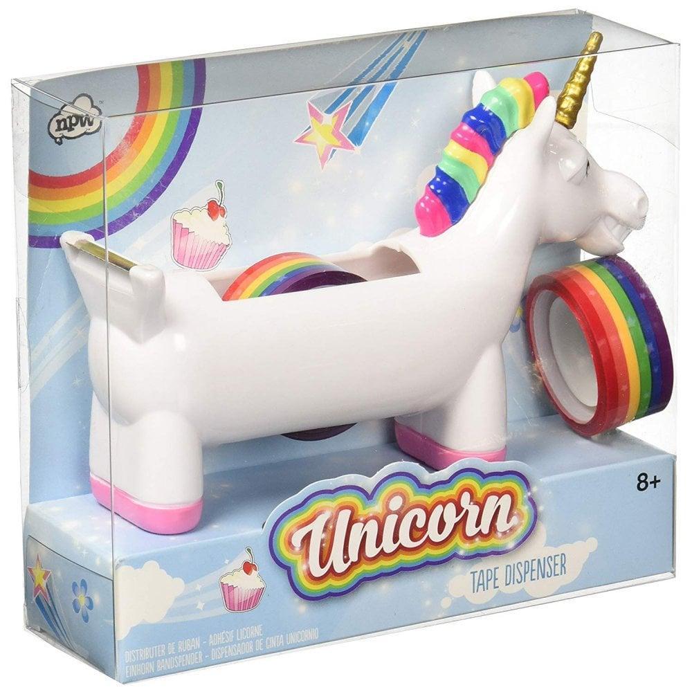 CYBER MONDAY SPECIAL  NPW Unicorn Tape Dispenser