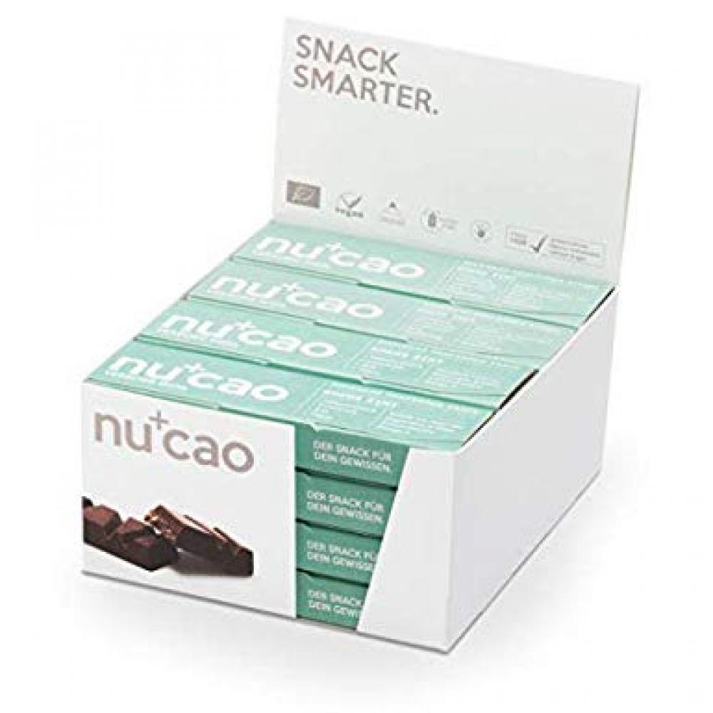Nucao Organic Raw Cacao And Hemp Seed Bar 40g