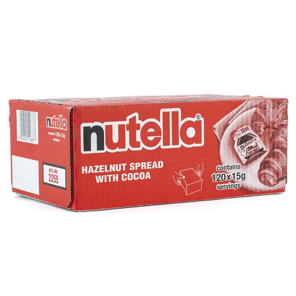 CASE PRICE  Nutella Hazlenut Spread With Cocoa 120 x 15g