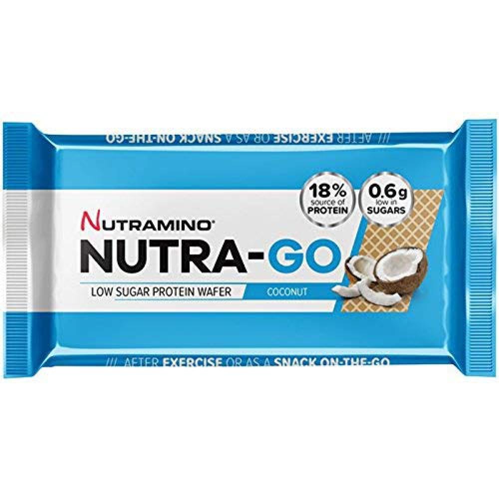 Nutramino Nutra-Go Low Sugar Protein Wafer Coconut 39g