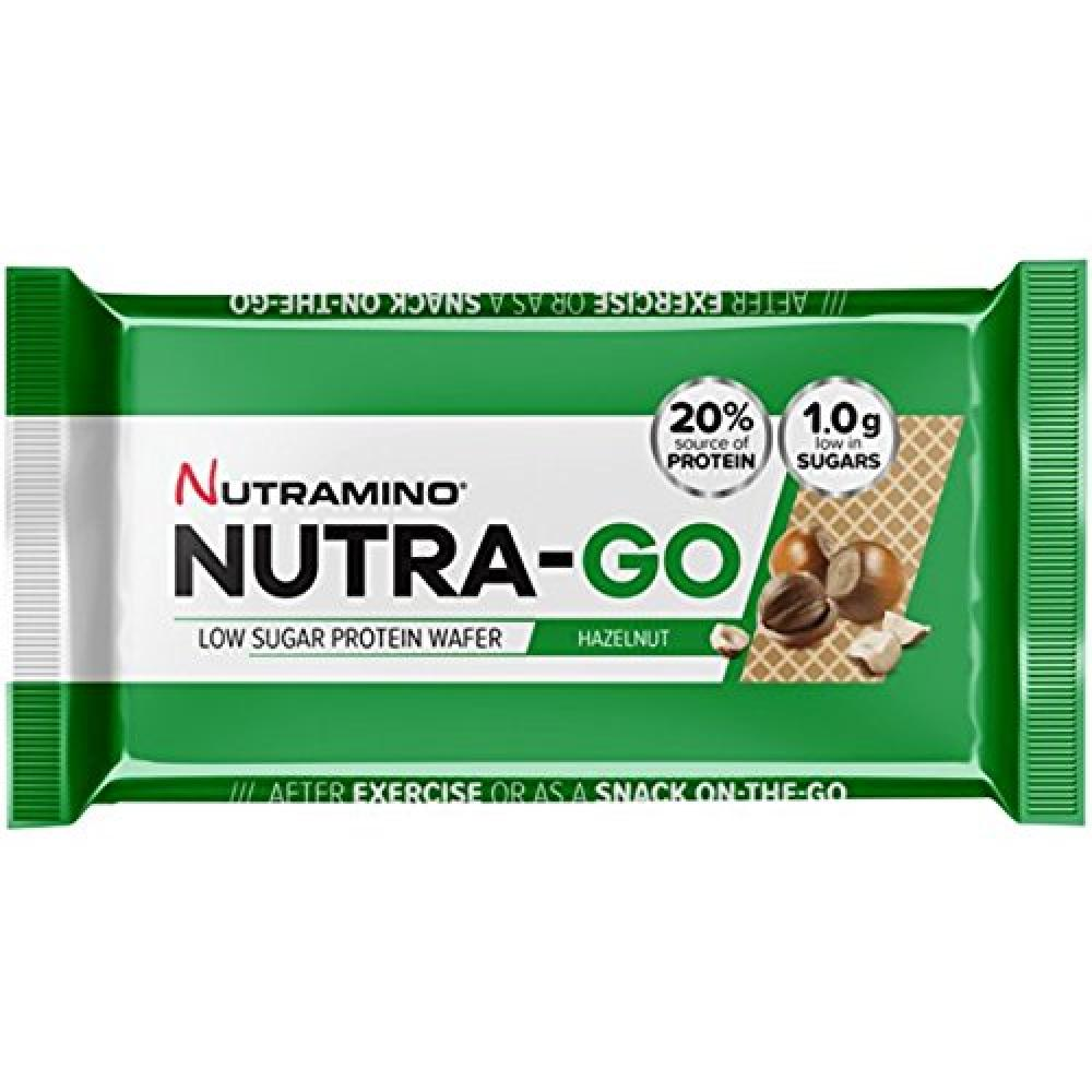 Nutramino Nutra-Go Low Sugar Protein Wafer Hazelnut 39 g