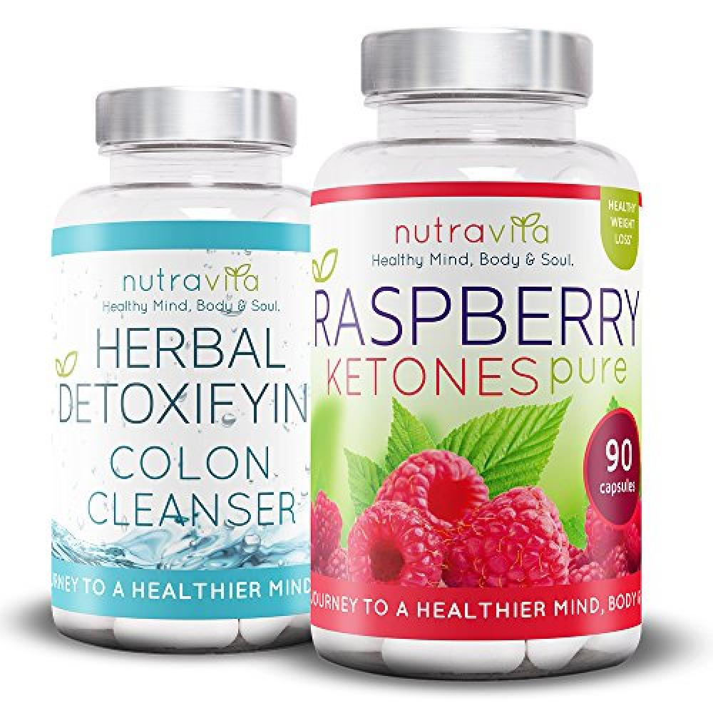 Nutravita Raspberry Ketones and Colon Cleanse Weight Loss ...