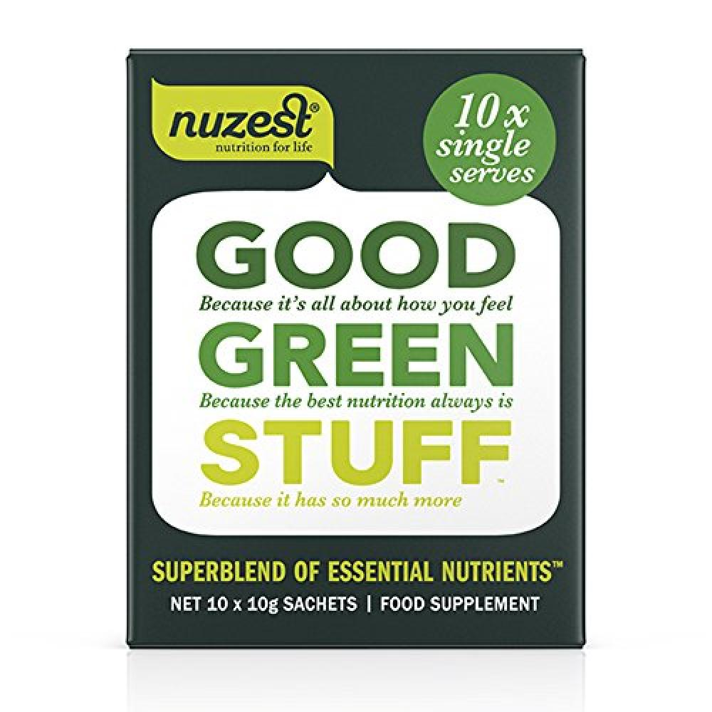 Nuzest 10 x 10 g Good Green Stuff Sachets