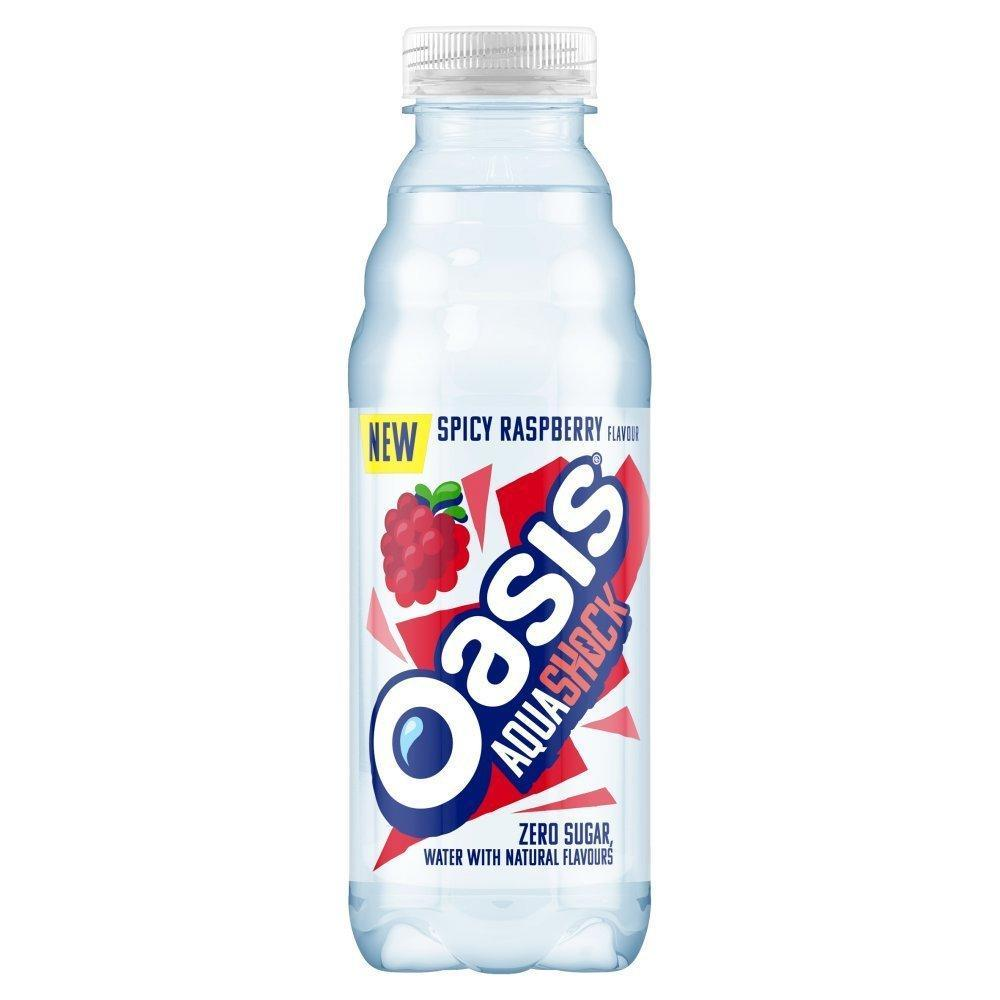 Oasis Aquashock Spicy Raspberry 500ml