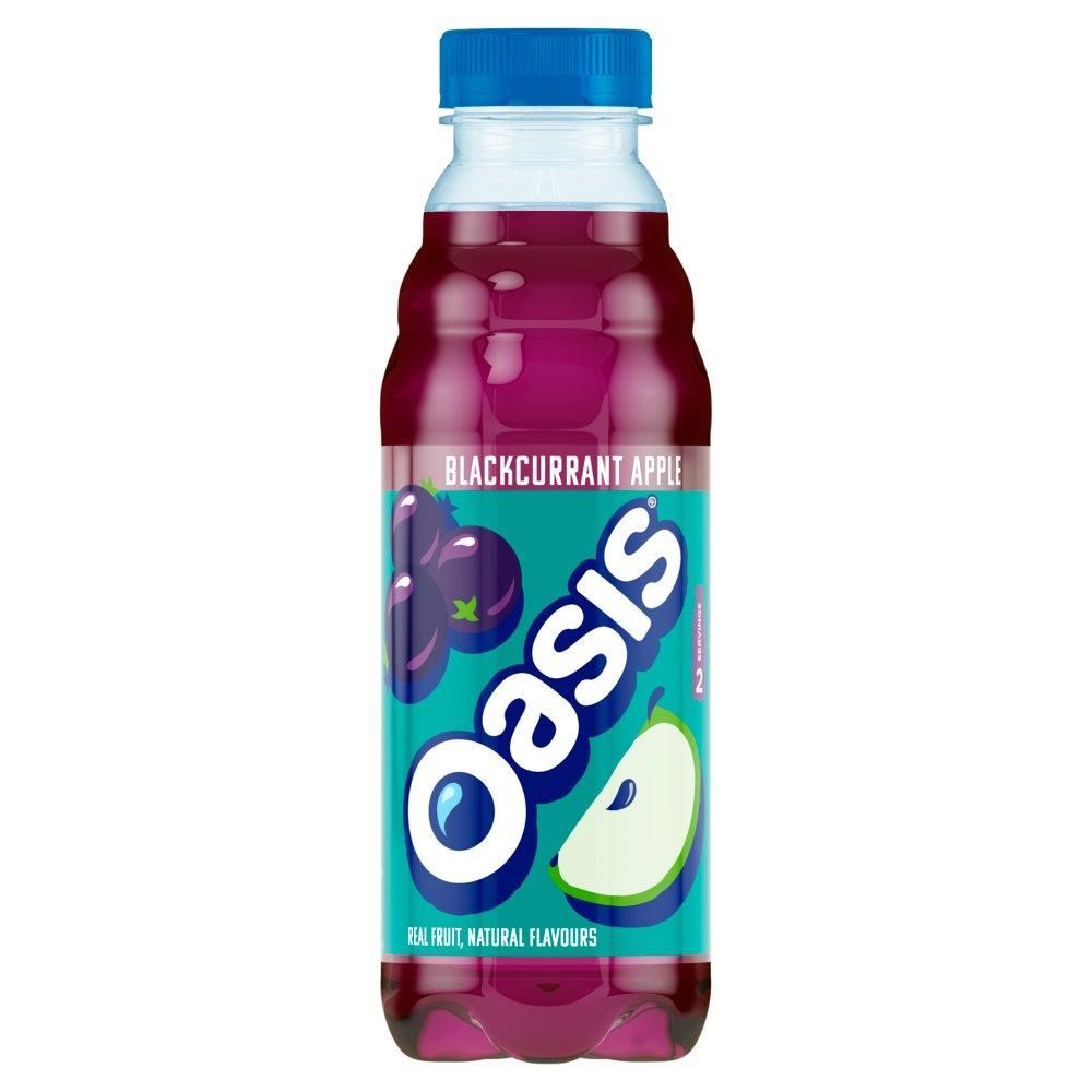 Oasis Blackcurrant and Apple 500ml