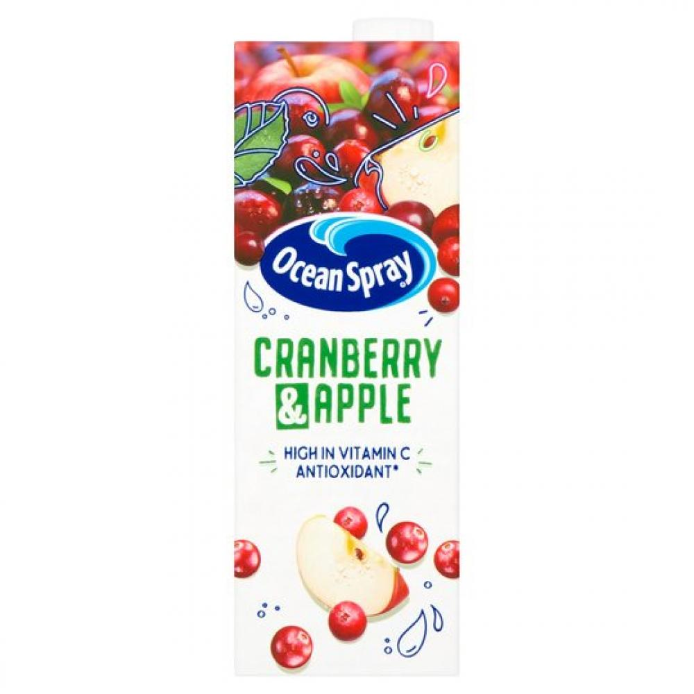 SALE  Ocean Spray Cranberry and Apple Juice Drink 1 Litre