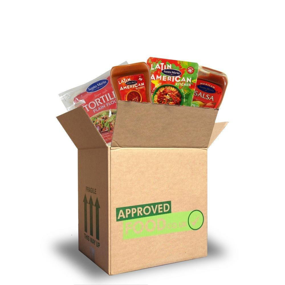 OCTOBER SPECIAL  Approved Food Mexican Box