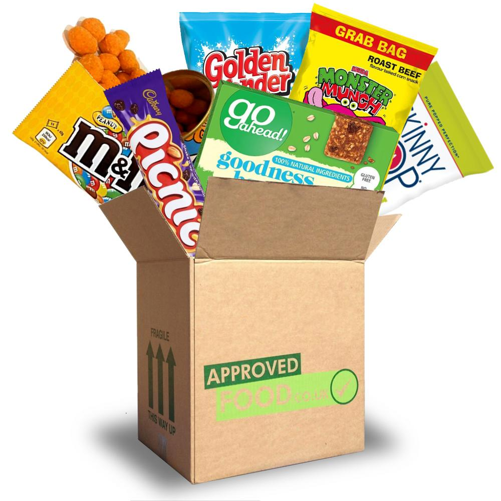 OCTOBER SPECIAL  Approved Food Snack Box 2