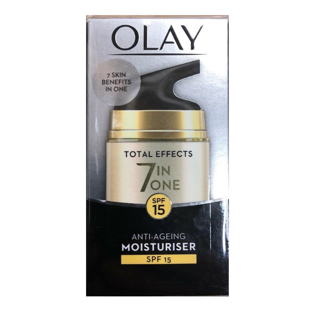 Olay SPF15 Total Effects 7-in-1 Anti-Ageing Moisturiser 50ml